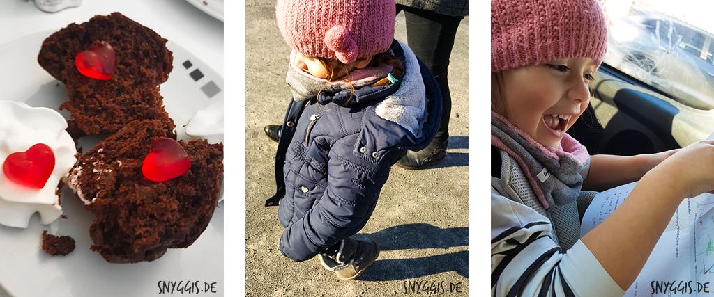 Muffins und Spaziergang