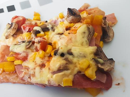Pizza fertig