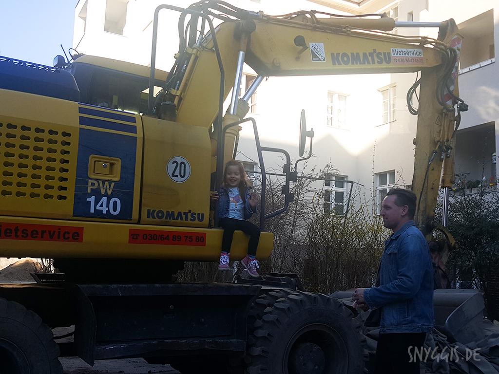 Baustelle im Hof