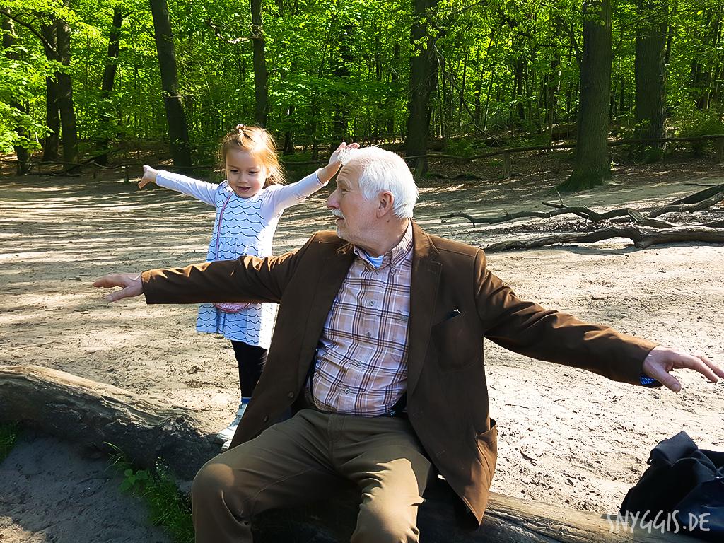 Fliegen mit Opa