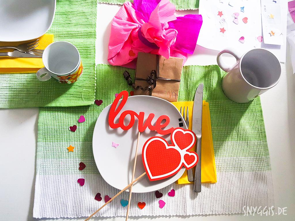 Frühstück am Vatertag