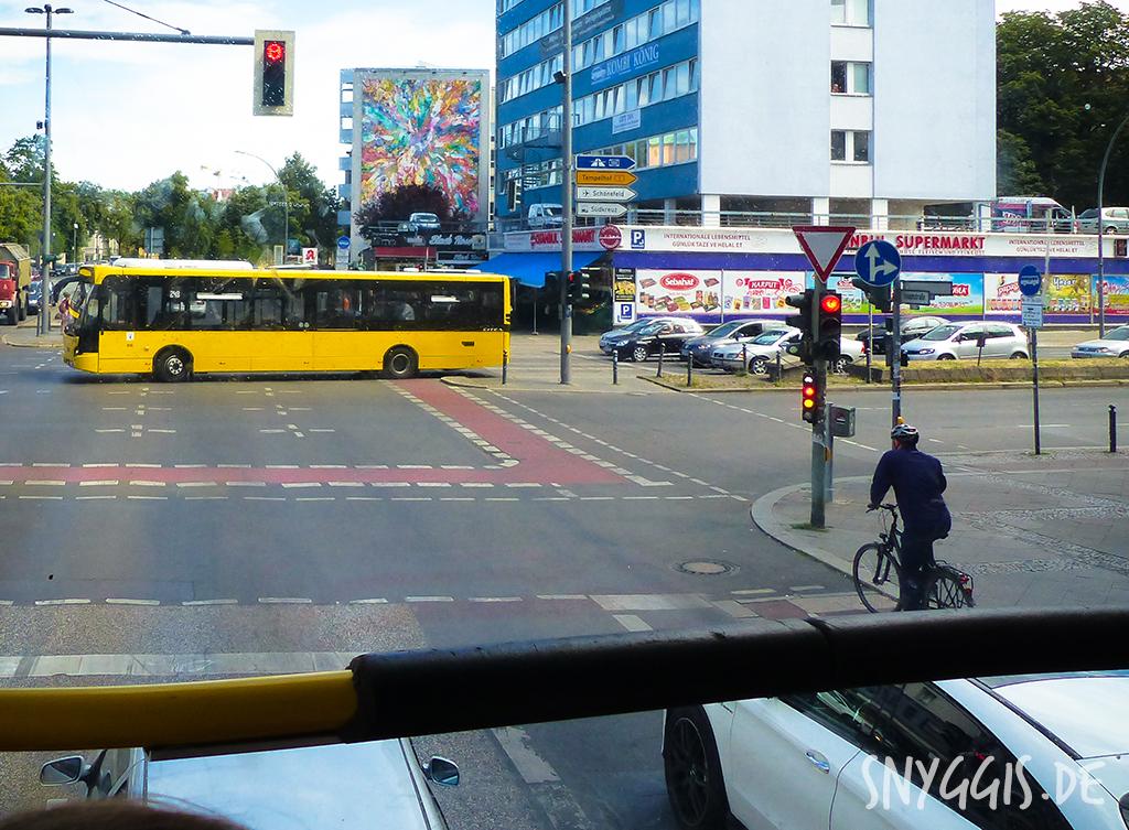 oben im Bus