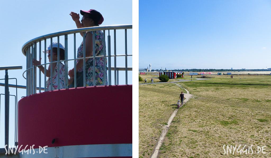Aussicht Tempelhofer Feld