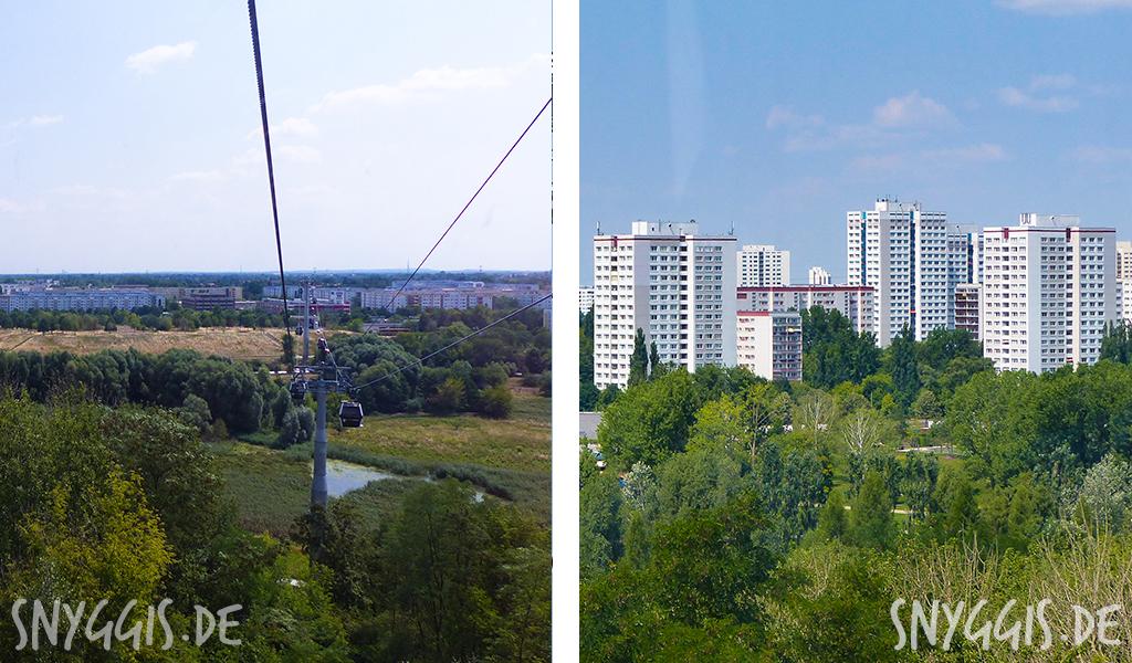 Ausblick auf Marzahn und Hellersdorf