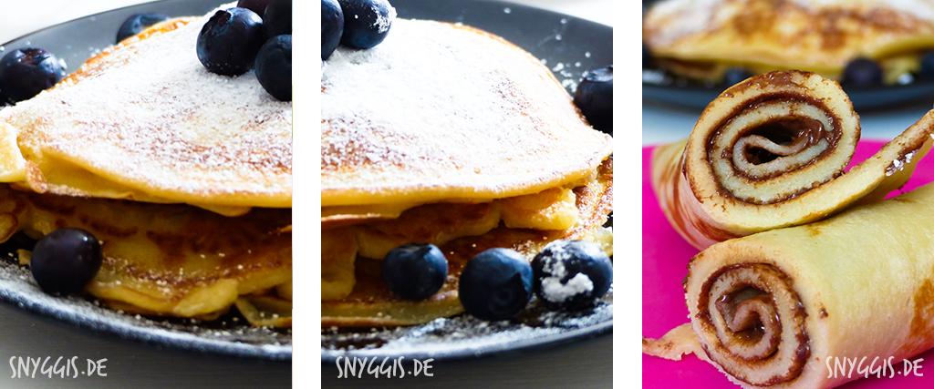 Pfannkuchen Frühstück