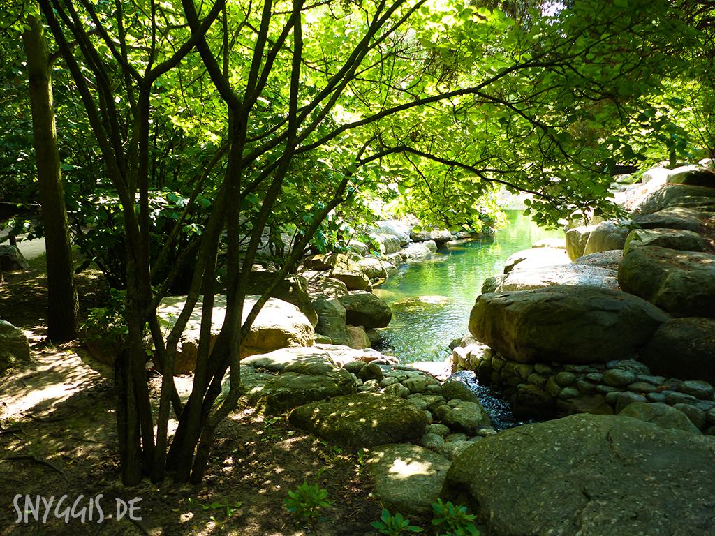 Bachlauf im Koreanischen Garten