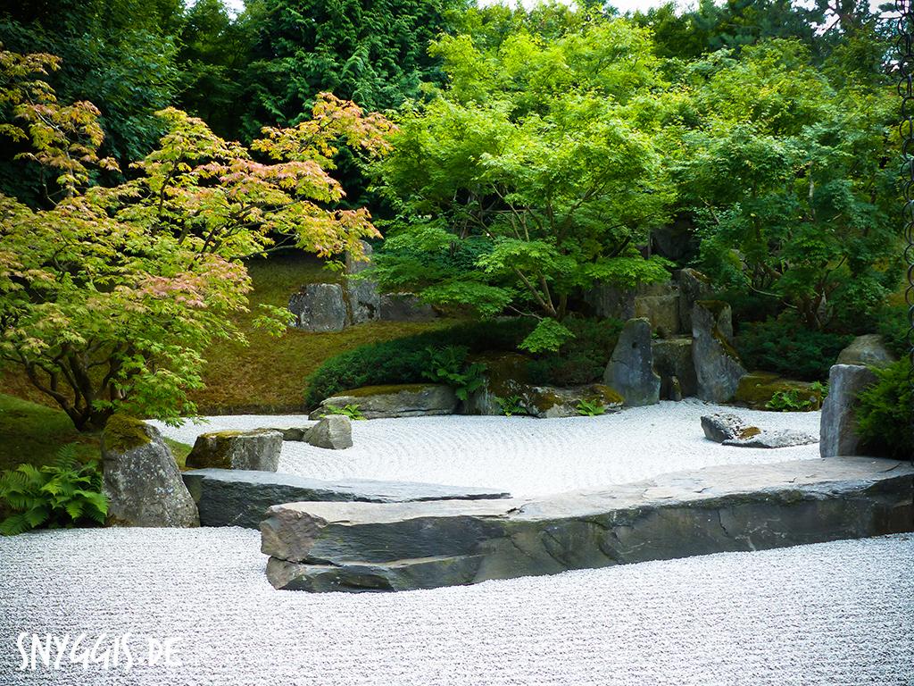 Zen Garden in den Gärten der Welt