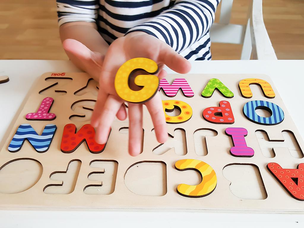 ABC Holz-Puzzle