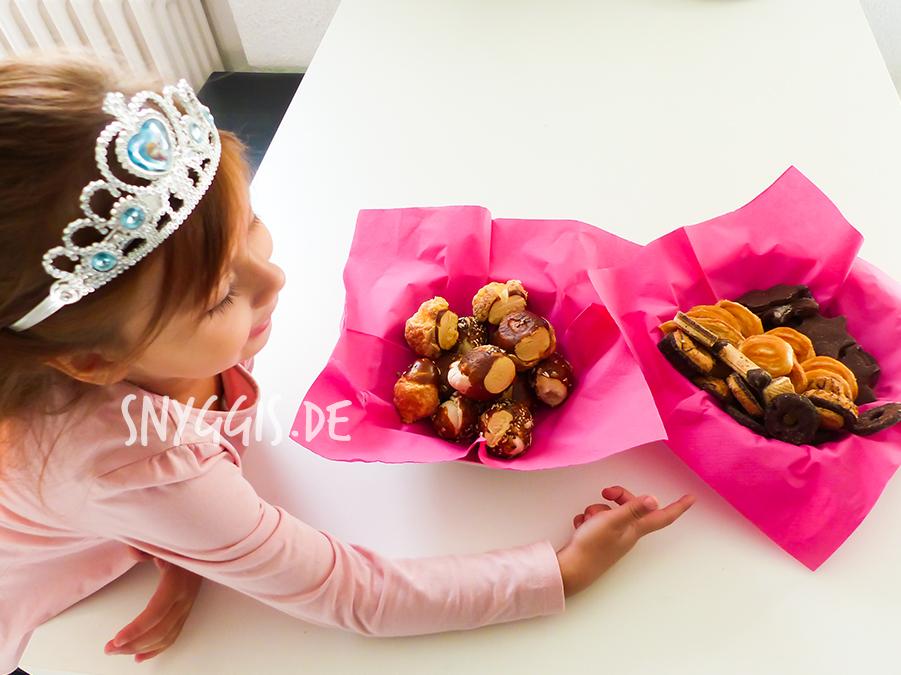 Laugengebäck und Kekse
