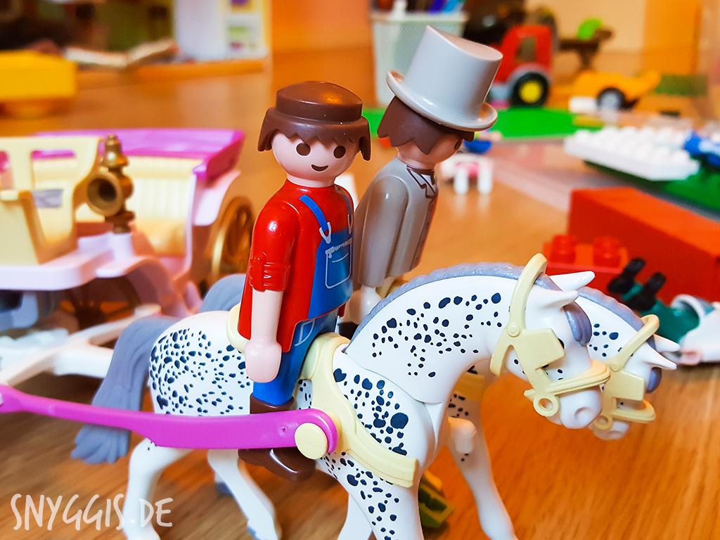 Lego, Arzt und Playmobil