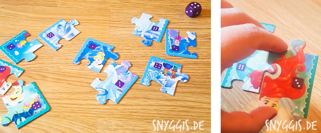 Würfel-Puzzle-Spiel