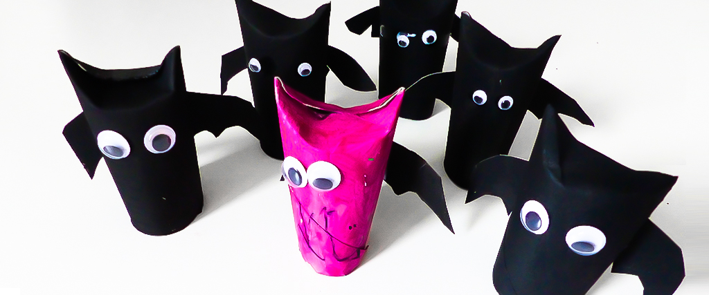 Halloween Fledermäuse