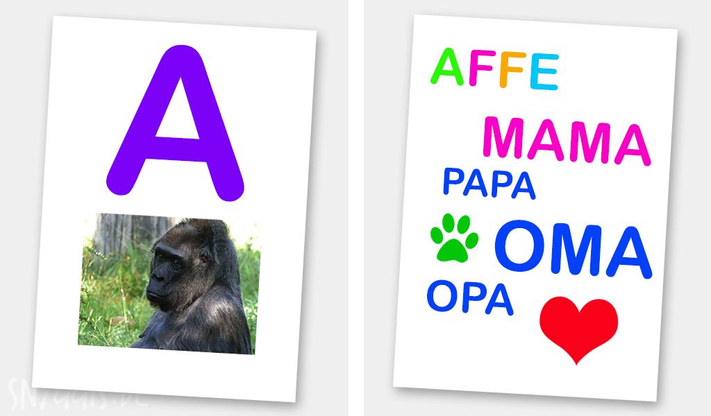 Lila A und Gorilla