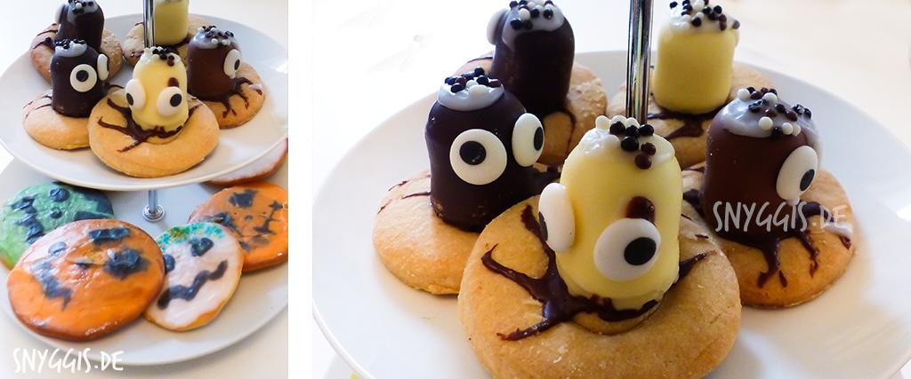 Mini-Amerikaner und Grusel-Cookies