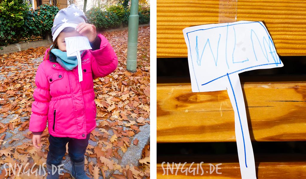 Protest von Mini-Snyggis