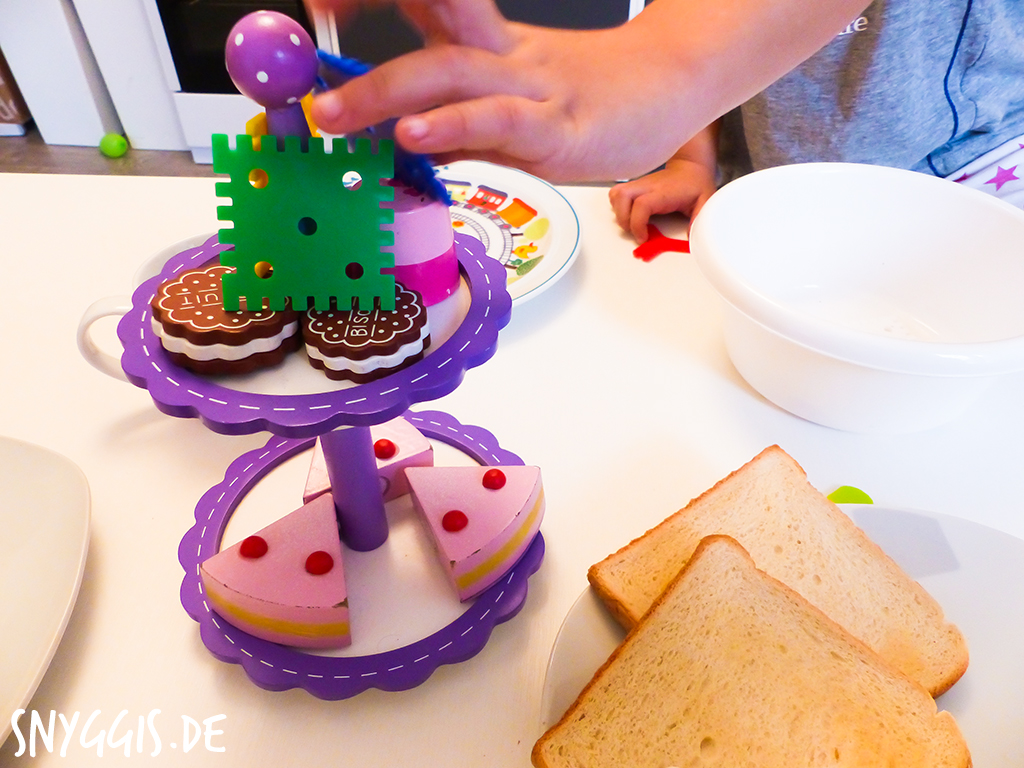 Mini-Snyggis macht Frühstück