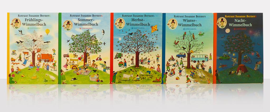 Wimmelbücher von Rotraut Susanne Berner