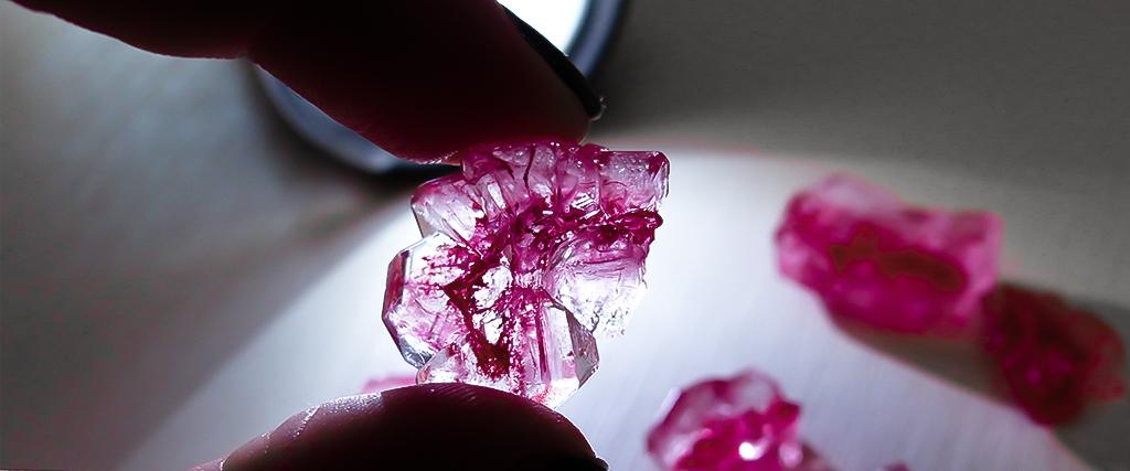 Kristalle züchten mit KOSMOS
