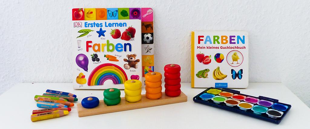 Farben lernen mit Kindern