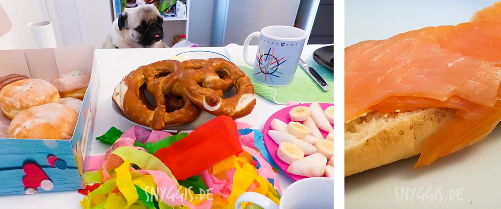 Neujahrs-Frühstück