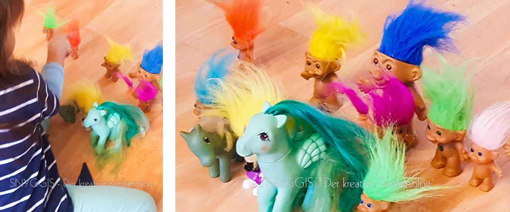 Pony- und Troll-Sammlung