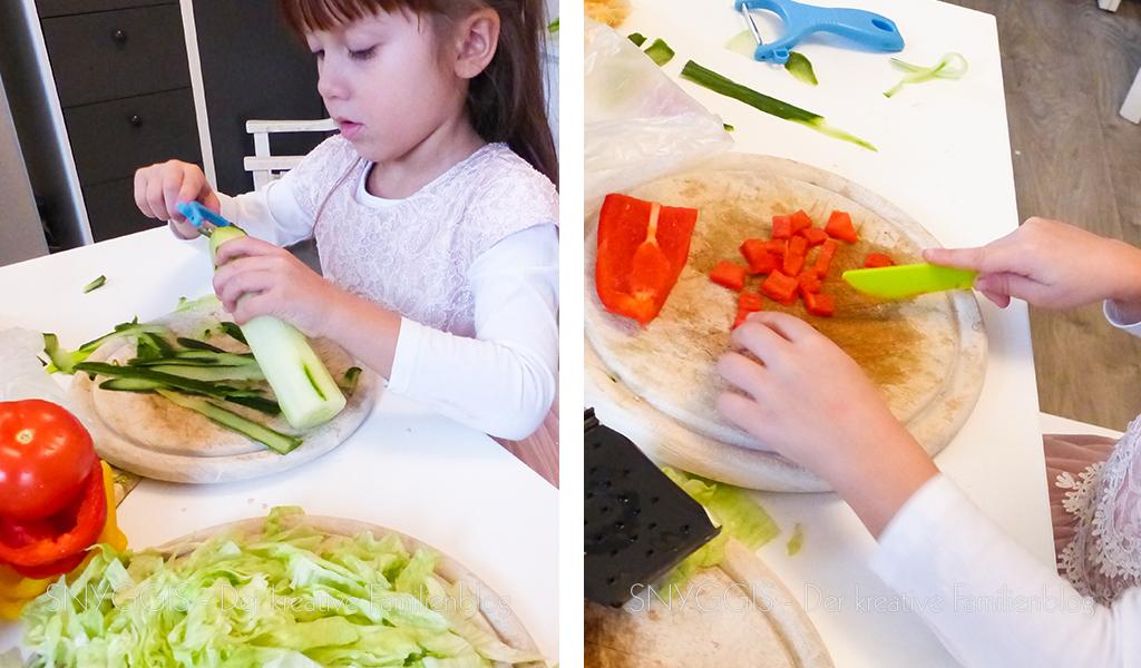Salat schnippeln