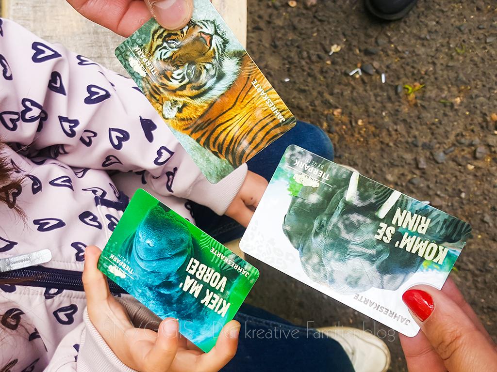 Tierpark Berlin - unsere Jahreskarten