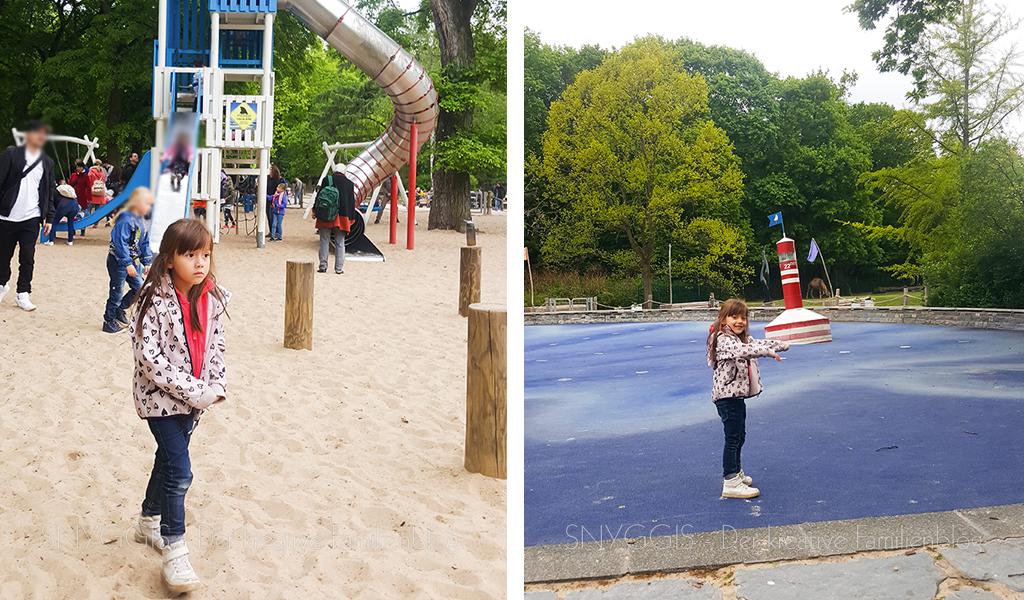 Spielplatz und Wasserspielplatz