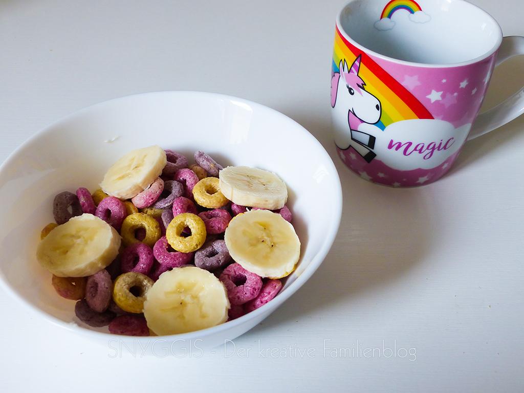 Unicorn-Frühstück