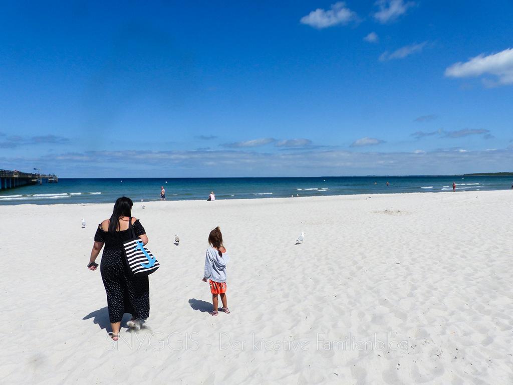 feiner weißer Sand