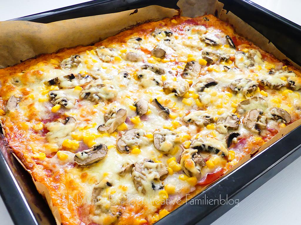 Pizza ist fertig