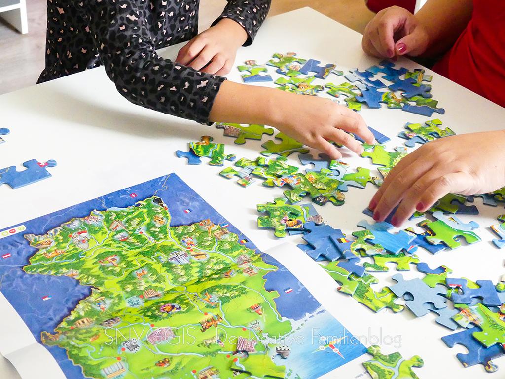 Wir puzzeln
