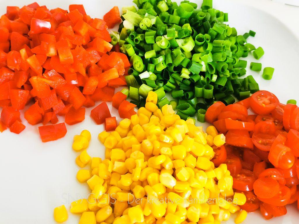 Gemüse-schnibbeln
