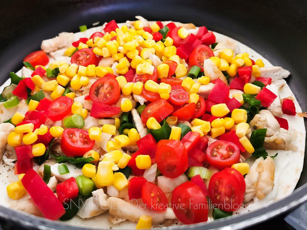Quesadillas-zubereiten