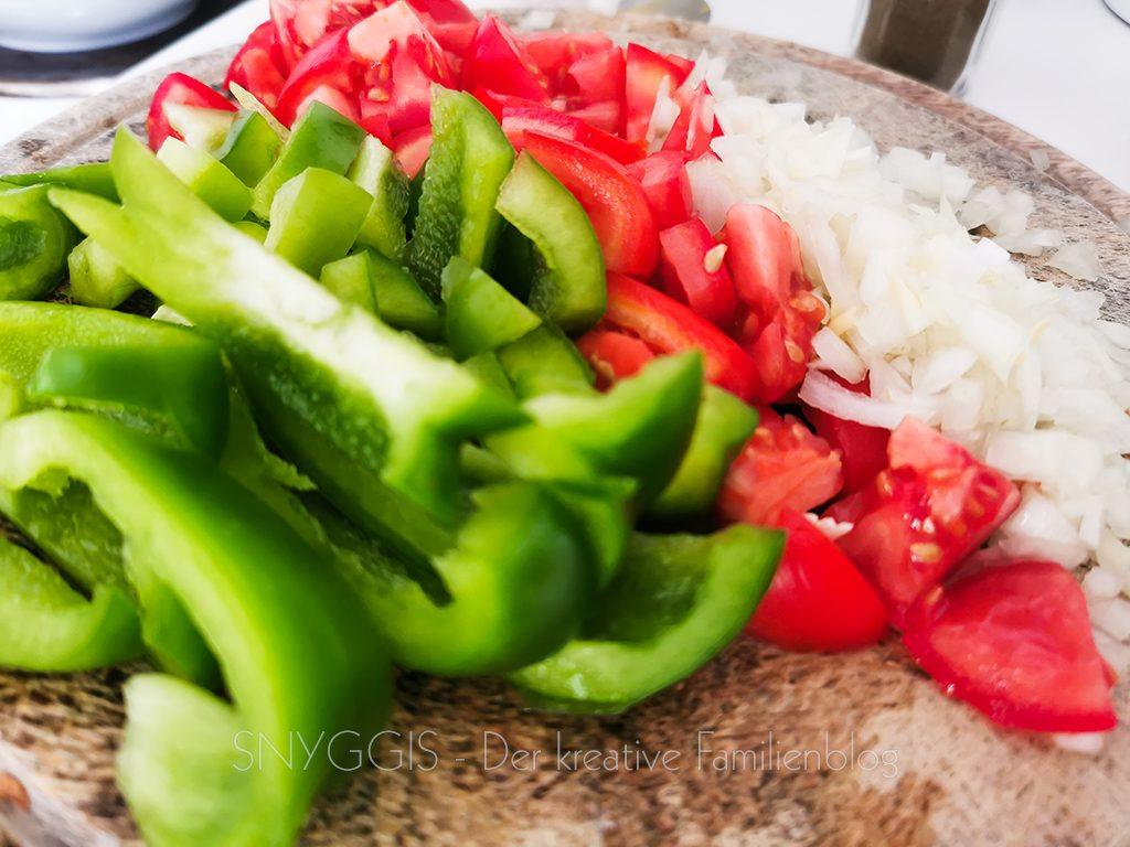 Gemüse-schnippeln