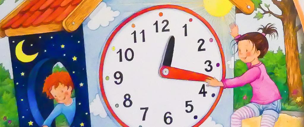 Uhr und Zeit