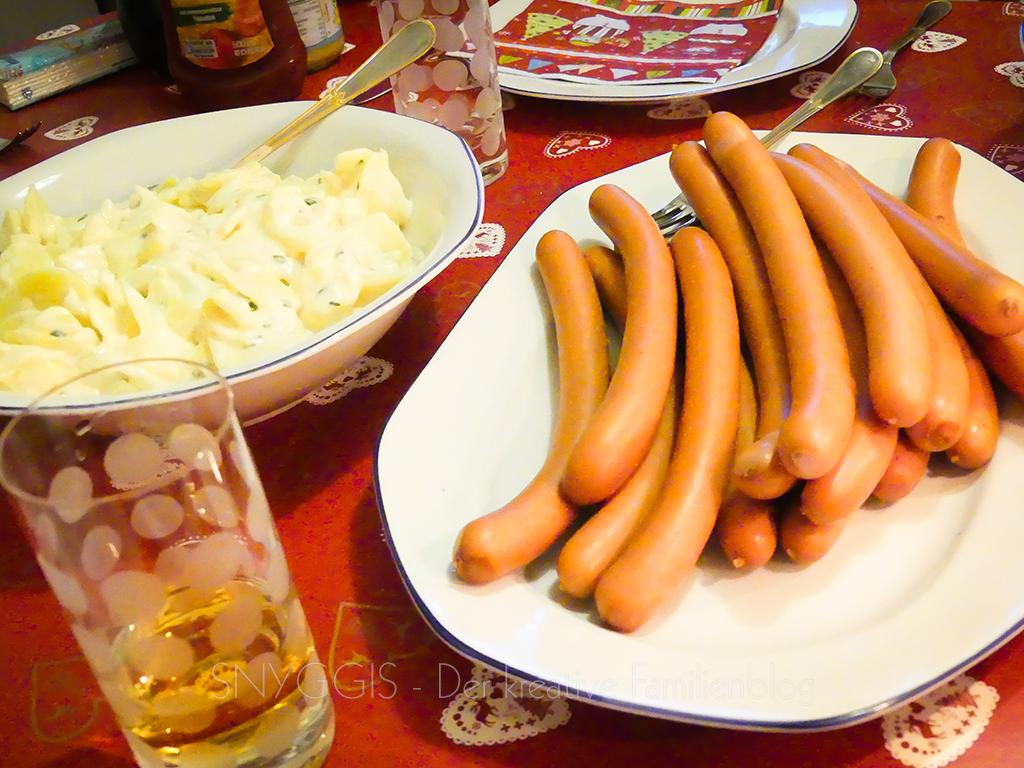Kartoffelsalat-und-Würstchen