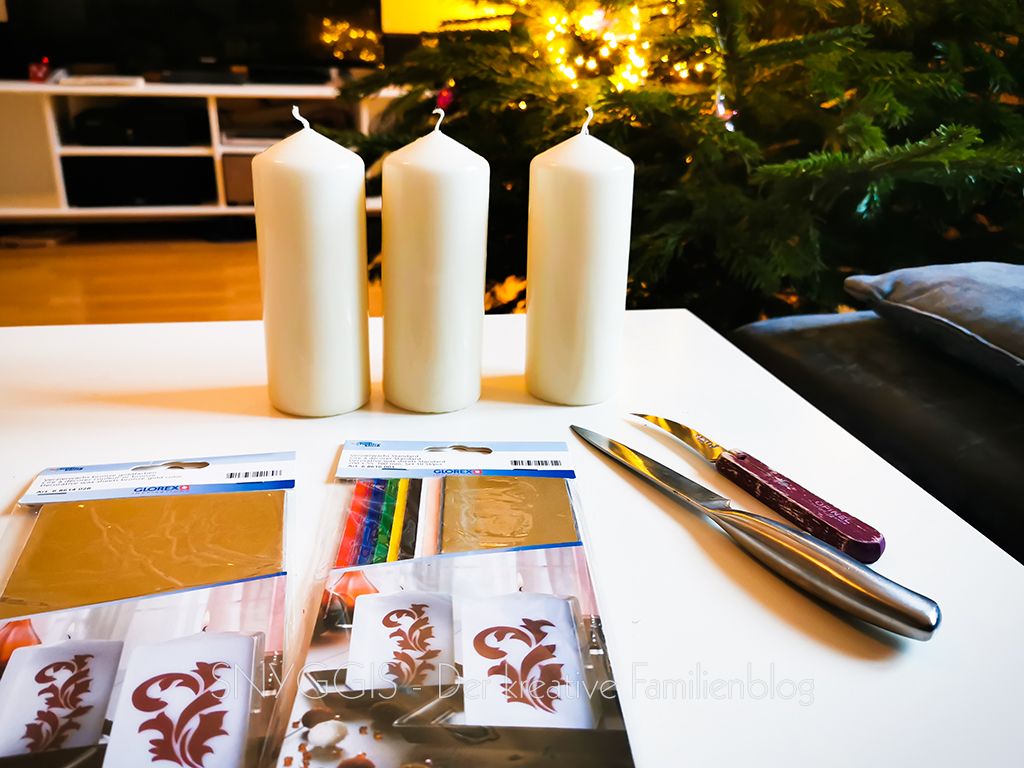 Kerzen-verzieren