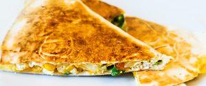 Quesadillas mit Hähnchenbrust
