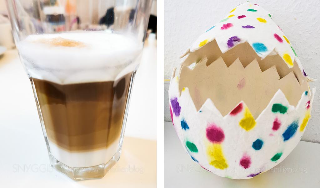 Kaffee und Riesenosterei