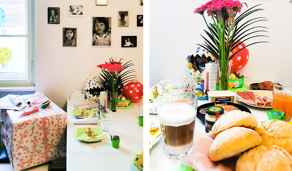 Osterfrühstück-und-Geschenke-auspacken-2
