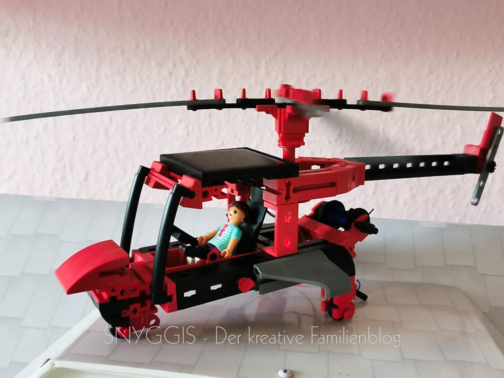Solar-Hubschrauber-fischertechnik