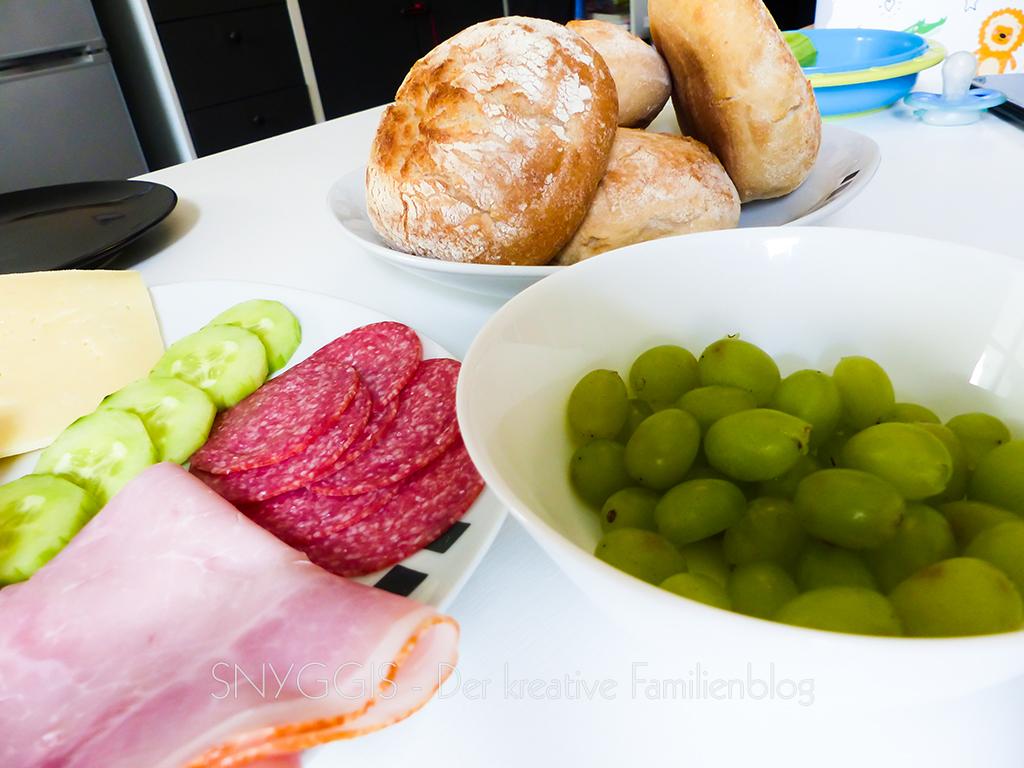 Sonntag-Frühstück