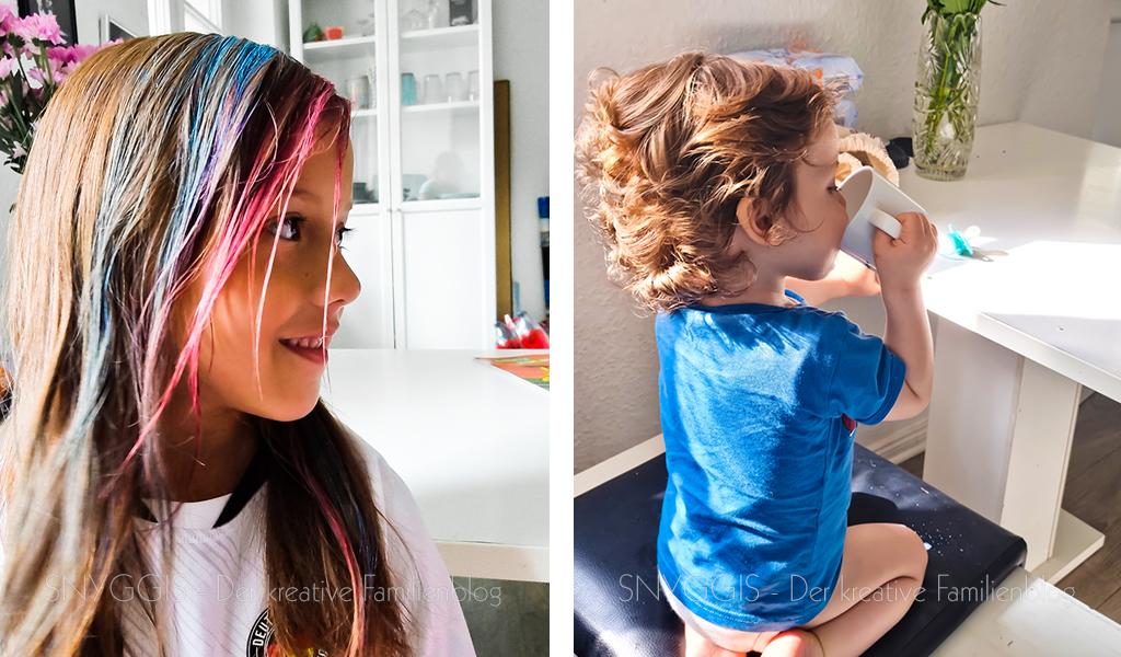 Haare-färben